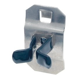 1/4 In. to 1/2 In. Hold Range 7/8 In. Proj. Vinyl Dipped Stainless Steel Extended Spring Clip for SS LocBoard, 3 Pack