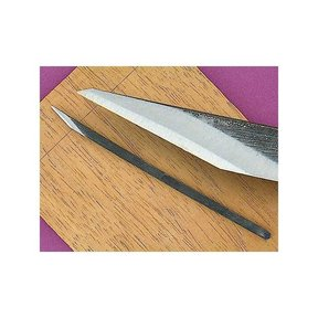 "1/4"" Western Pattern Blue Steel Woodworking Knife (Kiridashi Kogatana)"