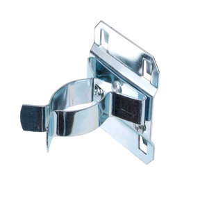 1 In. to 2 In. Hold Range 2-3/4 In. Projection Zinc Plated/Chromate Dipped Steel Extended Spring Clip for LocBoard, 5 Pa