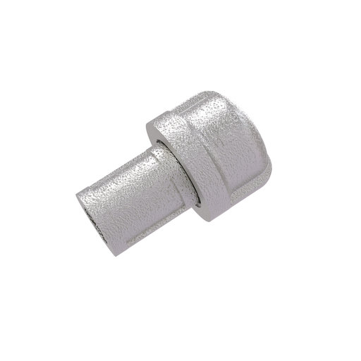 "View a Larger Image of  1"" Cabinet Knob, Satin Nickel Finish"