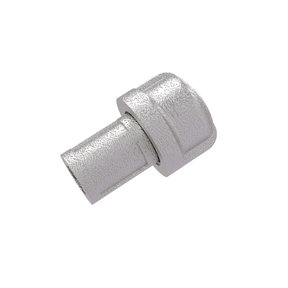 "1"" Cabinet Knob, Satin Nickel Finish"