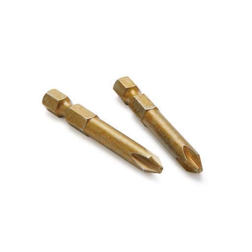 """View a Larger Image of #1 Phillips 2"""" Driver Bits - 2pc"""