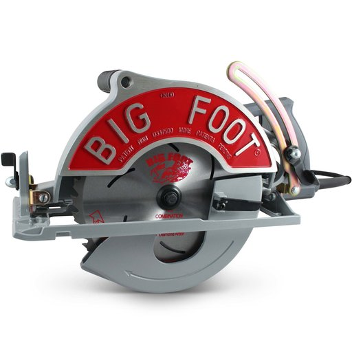 "View a Larger Image of 10-1/4"" Worm Drive Beam Saw w/Twist Lock Cord"