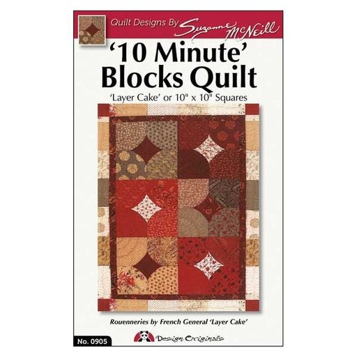 View a Larger Image of '10 Minute' Blocks Quilt Pattern