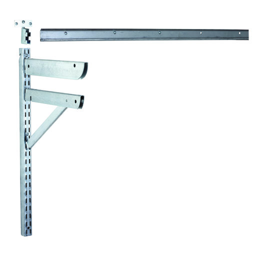 "View a Larger Image of 10"" Supported Shelf Bracket"