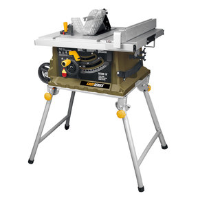 "10"" Table Saw with Foldable Leg Stand 15 A"