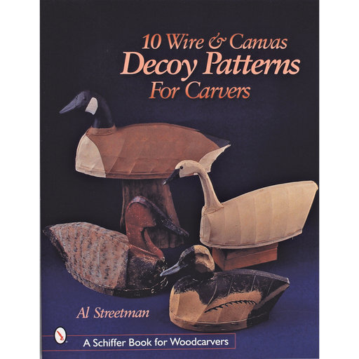 View a Larger Image of 10 Wire and Canvas Decoy Patterns for Carvers