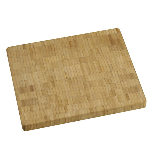 View a Larger Image of 10 X 12 inch X 1 inch thick Bamboo End-Grain Chopping Block