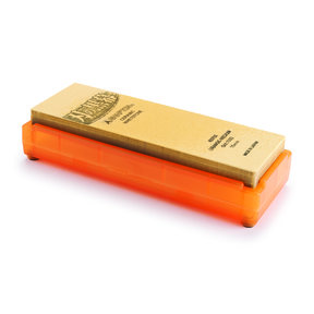 Kuromaku Traditional Pro (Orange) Ceramic Whetstone #1000 Grit