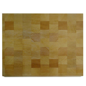 11 X 14 inch X 1-3/16 inch thick Beech End-Grain Chopping Block