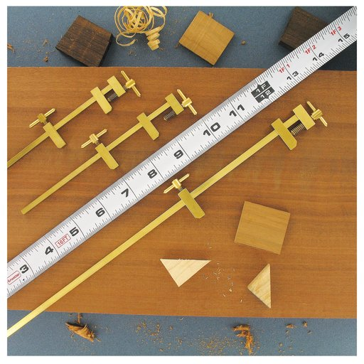 """View a Larger Image of 12"""" Brass Model Maker's Clamp"""