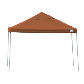 12 ft. x 12 ft. Pro Pop-up Canopy Straight Leg, Terracotta Cover