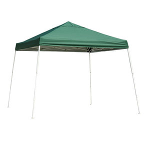 12 ft. x 12 ft. Sport Pop-up Canopy Slant Leg, Green Cover