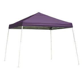 12 ft. x 12ft. Sport Pop-up Canopy Slant Leg, Purple Cover