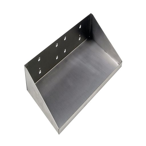 View a Larger Image of 12 In. W x 6 In. D Stainless Steel Shelf for Stainless Steel LocBoard