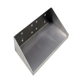 12 In. W x 6 In. D Stainless Steel Shelf for Stainless Steel LocBoard