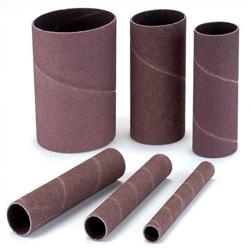 View a Larger Image of 120 grit x 4.5 in. Sanding Sleeve Assortment