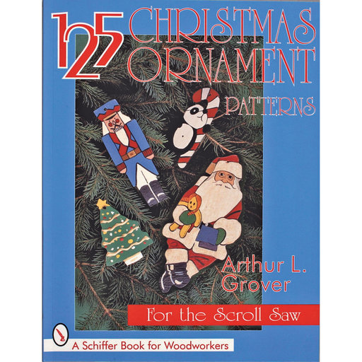 View a Larger Image of 125 Christmas Ornament Patterns for the Scroll Saw