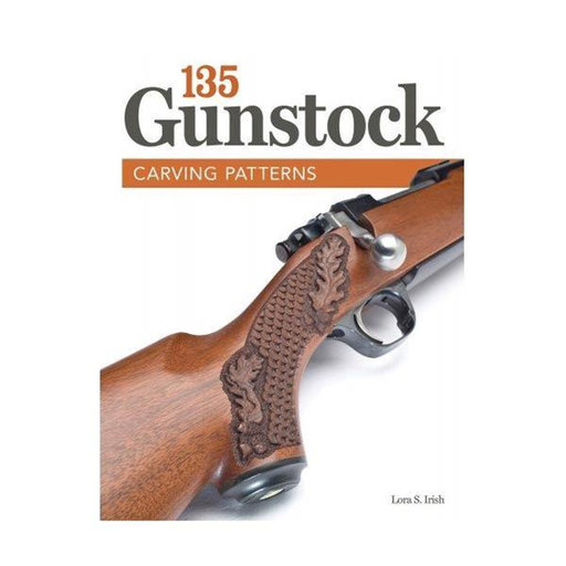 View a Larger Image of 135 Gunstock Carving Patterns