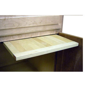 14 X 22 inch EZ Slide N Store Wood Cutting Board