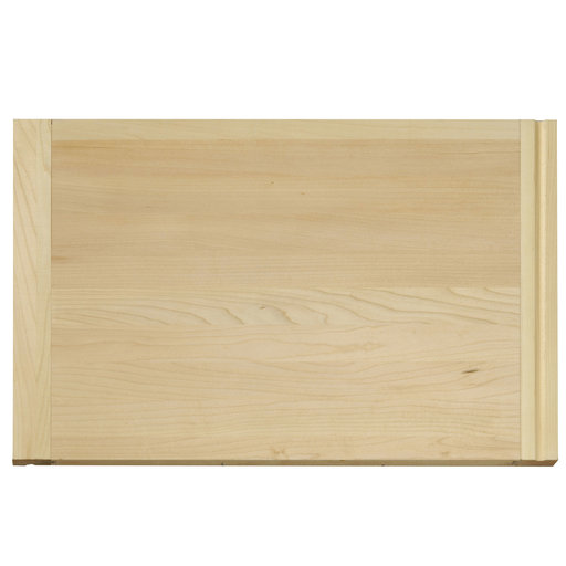 View a Larger Image of 14 X 22 inch X 3/4 inch thick Hardwood Cutting Board with Routed Pull-Out