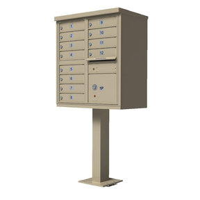 1570 12 Door Cluster Box Unit (CBU)