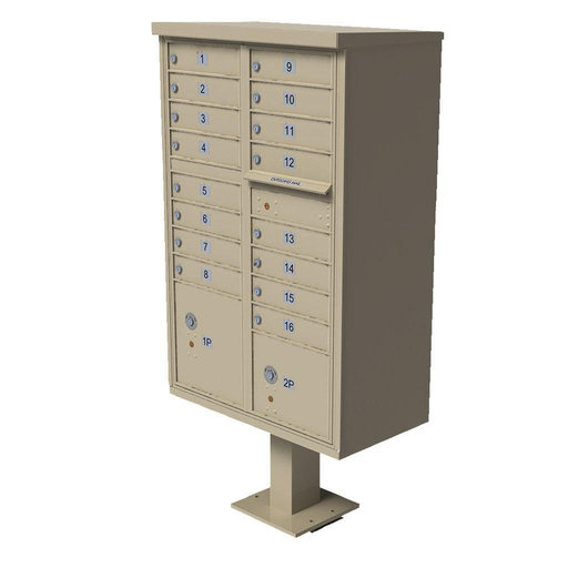 View a Larger Image of 1570 16 Door Cluster Box Unit (CBU)