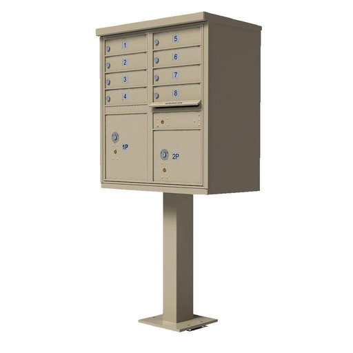 View a Larger Image of 1570 8 Door Cluster Box Unit (CBU)