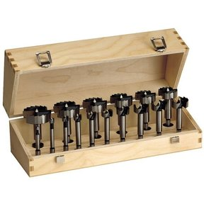 "16 PCS FORSTNER BIT SET: 1/4"", 3/8"", 1/2"", 5/8"", 3/4"", 7/8"", 1"", 1-1/8"", 1-1/4"", 1-3/8"", 1-1/2"", 1-5"