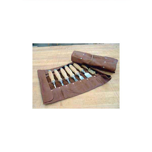 View a Larger Image of 16 Pouch Leather Chisel Roll