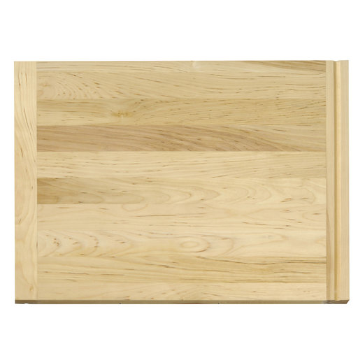 View a Larger Image of 16 X 22 inch X 3/4 inch thick Hardwood Cutting Board with Routed Pull-Out