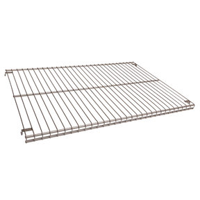 "16""x23""x3/4"" Wire Shelf, Champagne Nickel"