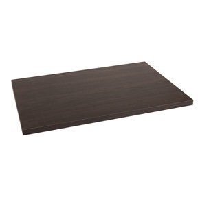 "16""x23""x3/4"" Wood Shelf, Espresso"