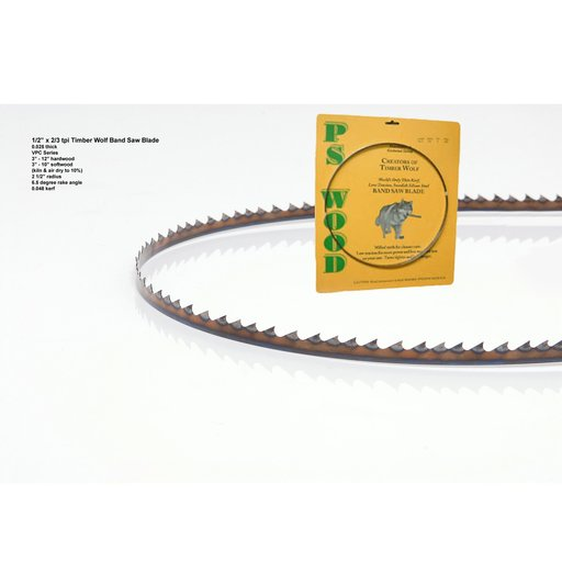"""View a Larger Image of 162"""" x 1/2"""" x 2/3tpi x .025   Band Saw Blade"""