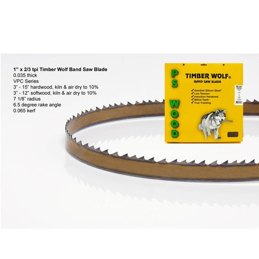 """View a Larger Image of 162"""" x 1"""" x 2/3tpi x .035  Band Saw Blade"""