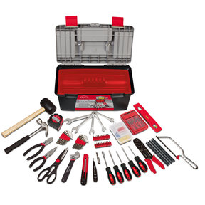 170 pc Household Tool Kit w Tool Box