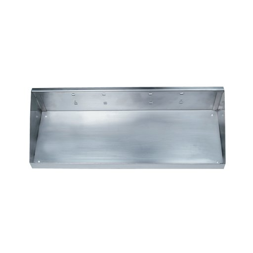 View a Larger Image of 18 In. W x 6-1/2 In. Deep Stainless Steel Shelf for Stainless Steel LocBoard