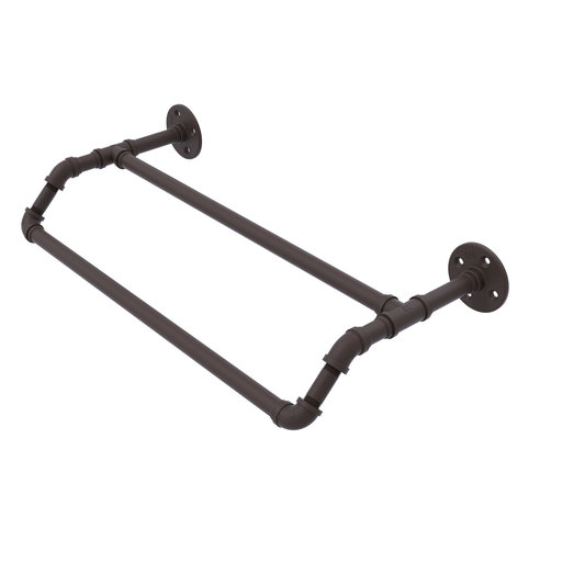 """View a Larger Image of  18"""" Double Towel Bar, Antique Bronze Finish"""
