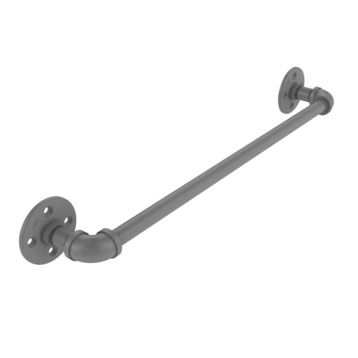 "View a Larger Image of  18"" Towel Bar, Matt Gray Finish"