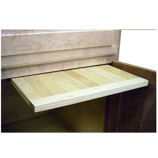 View a Larger Image of 18 X 22 inch EZ Slide N Store Wood Cutting Board