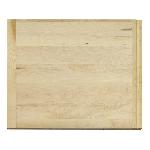 View a Larger Image of 18 X 22 inch X 3/4 inch thick Hardwood Cutting Board with Routed Pull-Out