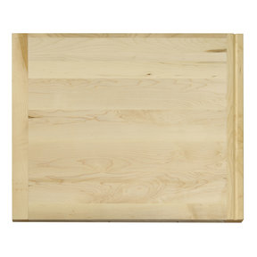 18 X 22 inch X 3/4 inch thick Hardwood Cutting Board with Routed Pull-Out