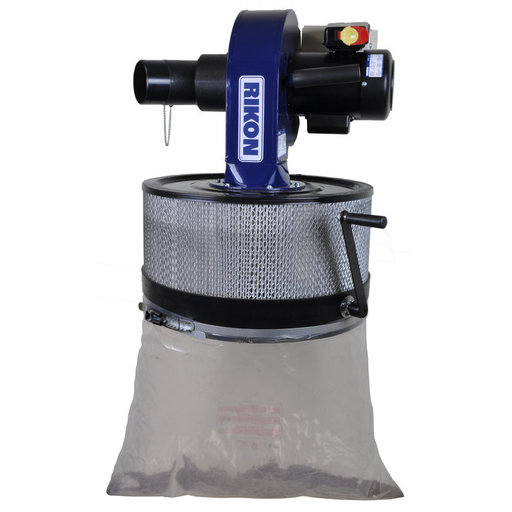 View a Larger Image of 1HP Wall Mount Dust Collector