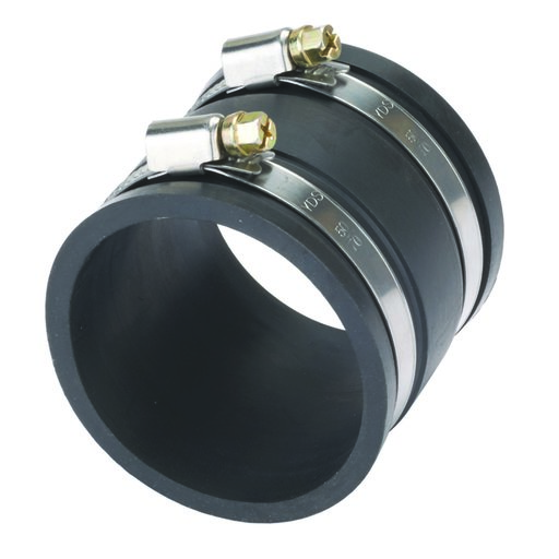 View a Larger Image of 2-1/2-Inch Dust Control Flex Cuff With Hose Clamps