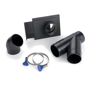 "2-1/2"" X3 Multi-Machine Dust Collection Fitting Kit"