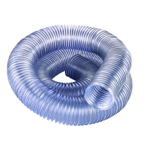 "View a Larger Image of 2.5"" Diameter Clear Dust Collection Hose"