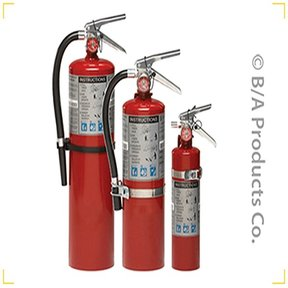 2.5 LB. Fire Extinguisher W/Vehicle Bracket