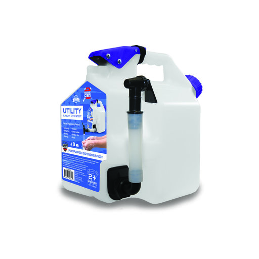 View a Larger Image of  2+ Gallon Utility Can with Spigot