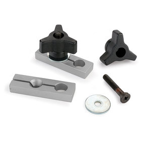 2-Piece Jig & Fixture Set For Miter Slot