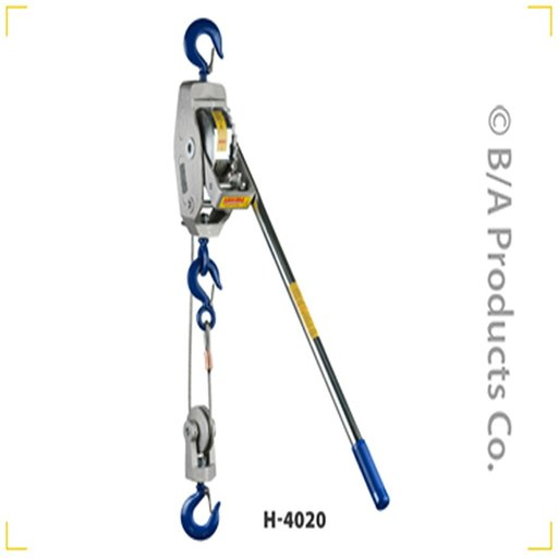 View a Larger Image of Lug-All Cable Ratchet Winch Hoist, 2 Ton